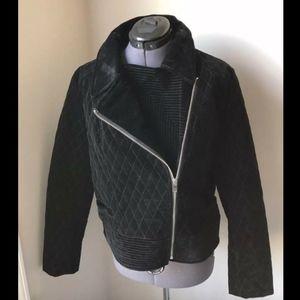 NWOT Bagatelle Stitch Fix Black Quilted Jacket 2X